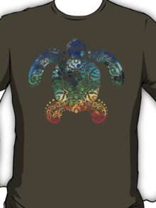 Inked Sea Turtle T-Shirt