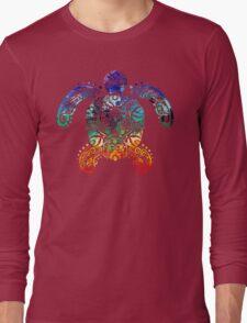 Inked Sea Turtle Long Sleeve T-Shirt