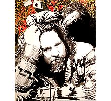 The Dude and his rug Photographic Print