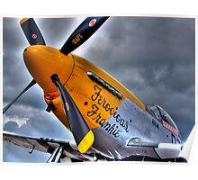 Ferocious Frankie - Flightline Duxford - 2014 - HDR Poster