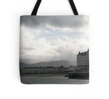 CHINK OF BLUE.  Tote Bag