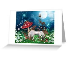 A magical evening Greeting Card