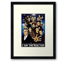 The 12 Doctors Framed Print