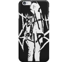 Death Grips | MC Ride (white) iPhone Case/Skin
