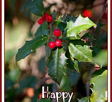 Happy Holidays Holly by WalnutHill