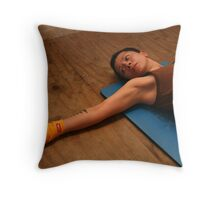 Final Stretch Throw Pillow