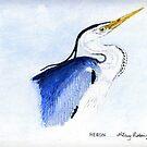 Heron by Hilary Robinson