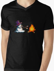 Snowmen aren't the brightest Mens V-Neck T-Shirt