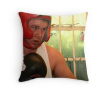 boxer II Throw Pillow