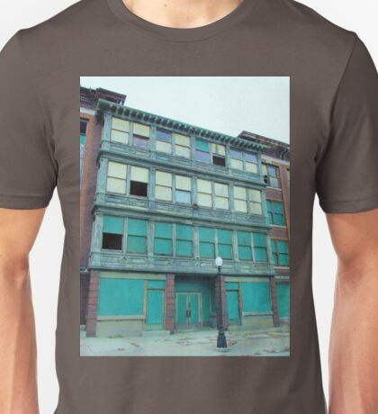 Abandoned apartment building Unisex T-Shirt
