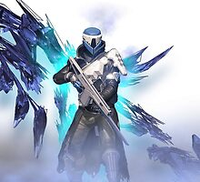 Destiny Warlock by rampagegraphics