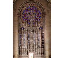 Sanctuary Reredos, Our Lady of Hope, Philadelphia Photographic Print