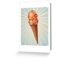 Strawberry Double Scoop Greeting Card