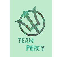 Team Percy Photographic Print