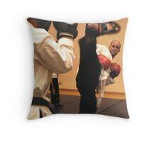High Kick Throw Pillow