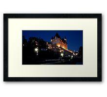 OTTAWA NIGHT  Framed Print