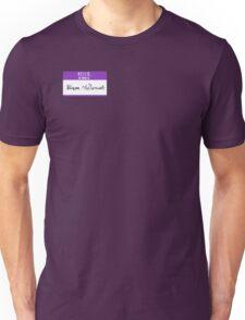 Hello, My Name is: Hiram McDaniels Unisex T-Shirt