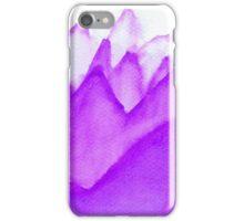 Purple Mountains iPhone Case/Skin