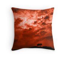Shepherds' Warning Throw Pillow