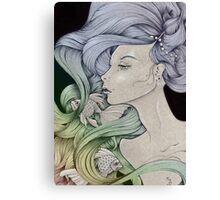 Araxie (reloaded) Canvas Print