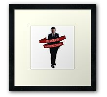 Moriarty - Consulting Criminal Framed Print