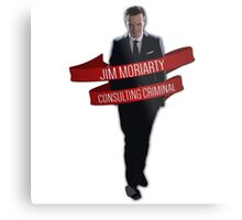 Moriarty - Consulting Criminal Metal Print