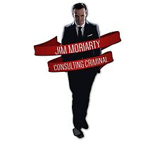 Moriarty - Consulting Criminal Photographic Print