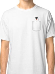 3D Pocket Penguin Classic T-Shirt