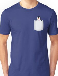 3D Pocket Penguin Unisex T-Shirt