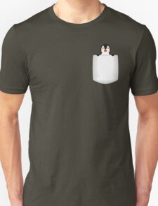 3D Pocket Penguin T-Shirt
