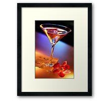 Jack's Martini Framed Print