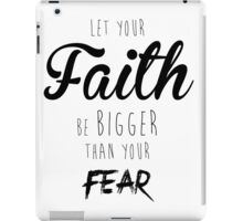 Faith Over Fear iPad Case/Skin