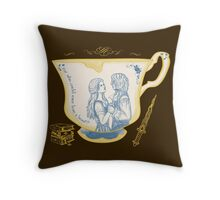 Chipped Cup Throw Pillow