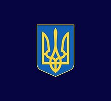 Coat of arms of Ukraine by Jazyy