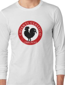 Black Rooster Chicago Chianti Classico Long Sleeve T-Shirt