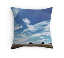 Australian Countryside Throw Pillow
