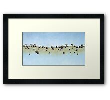 Back Country Framed Print