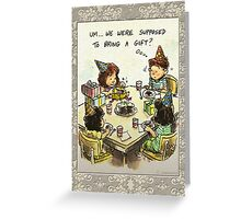 Party Faux Pas Greeting Card