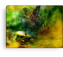 Healed Canvas Print
