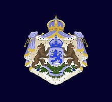 Royal Coat of Arms of Greece by Jazyy