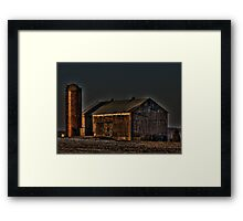 Enlightened Farm v2 Framed Print