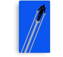 Iron Man Flight Canvas Print