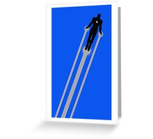 Iron Man Flight Greeting Card