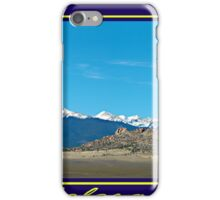 Colorado Morning iPhone Case/Skin
