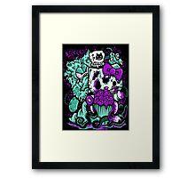 grudgefield x zombie kitty Framed Print