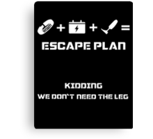 The Guardian's Escape Plan Canvas Print
