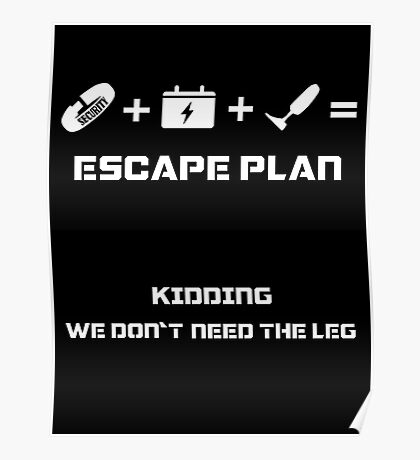 The Guardian's Escape Plan Poster