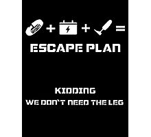 The Guardian's Escape Plan Photographic Print