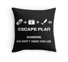 The Guardian's Escape Plan Throw Pillow