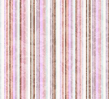 Bleached stripes card by thepatternroom